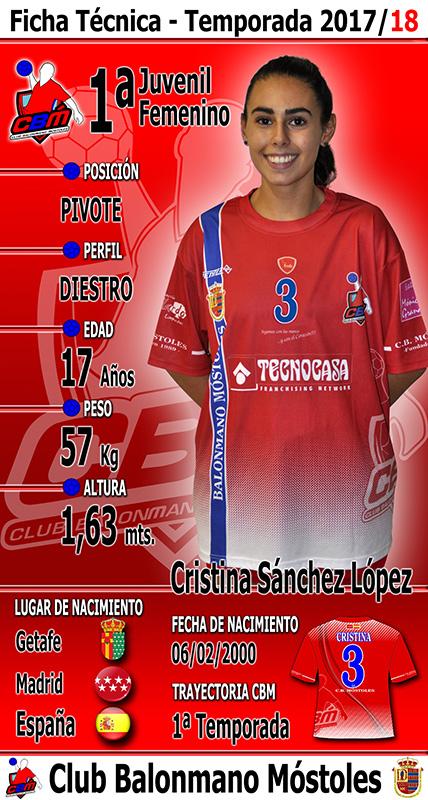 3 - Cristina Sánchez López
